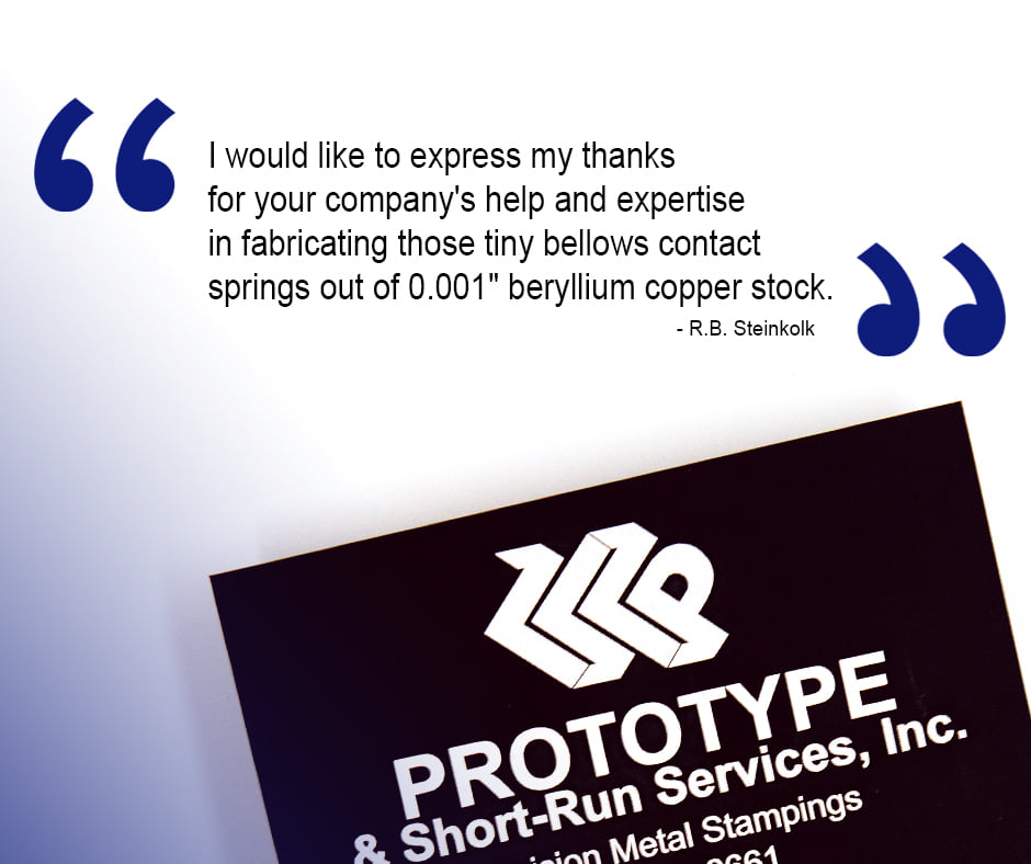 Prototype and American Wire EDM Testimonials