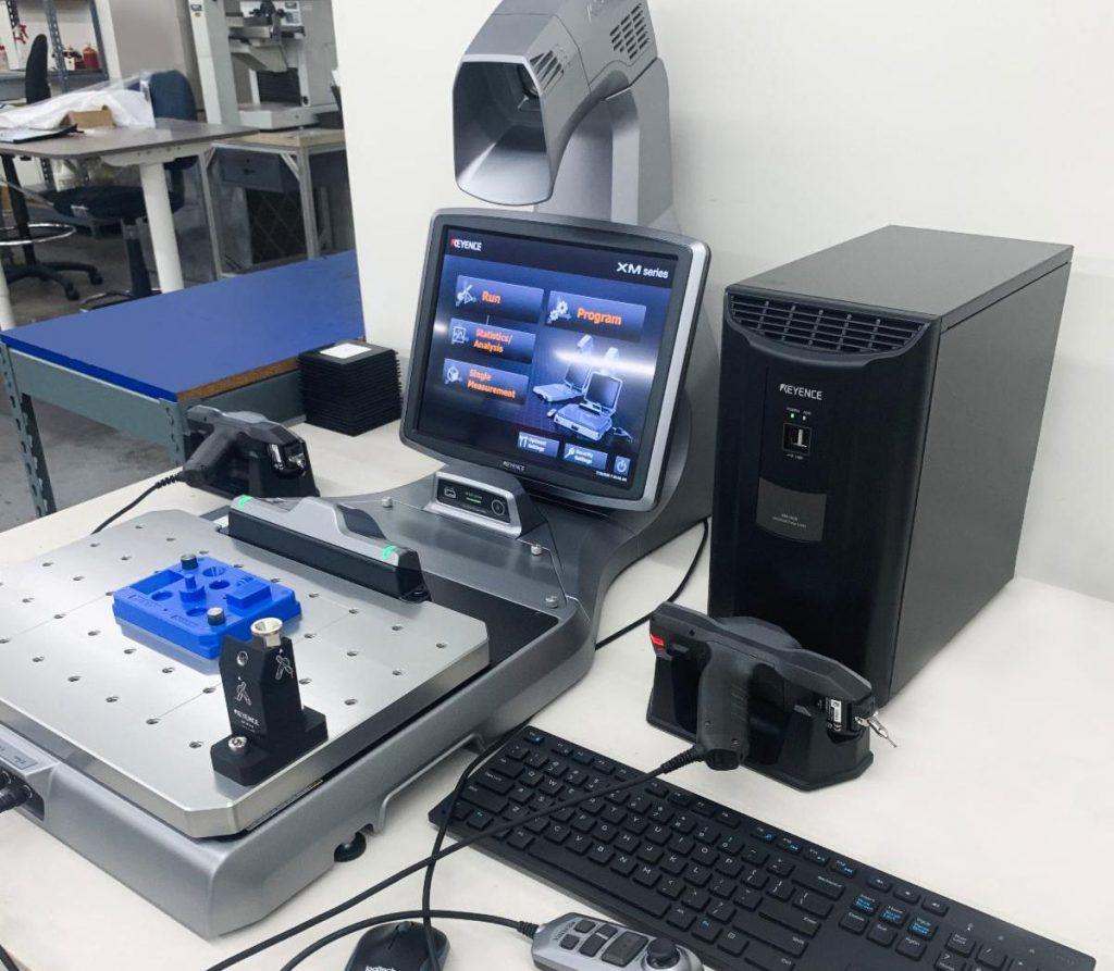 precision parts Keyence Handheld Probe Coordinate Measuring Machine